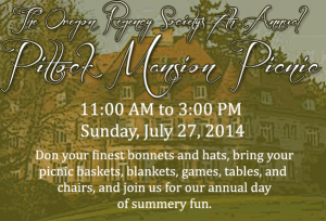 Pittock Mansion Picnic 2014