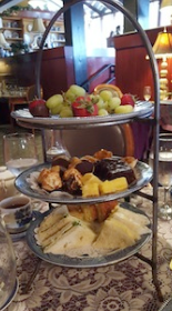 Olive Branch Tea Tower