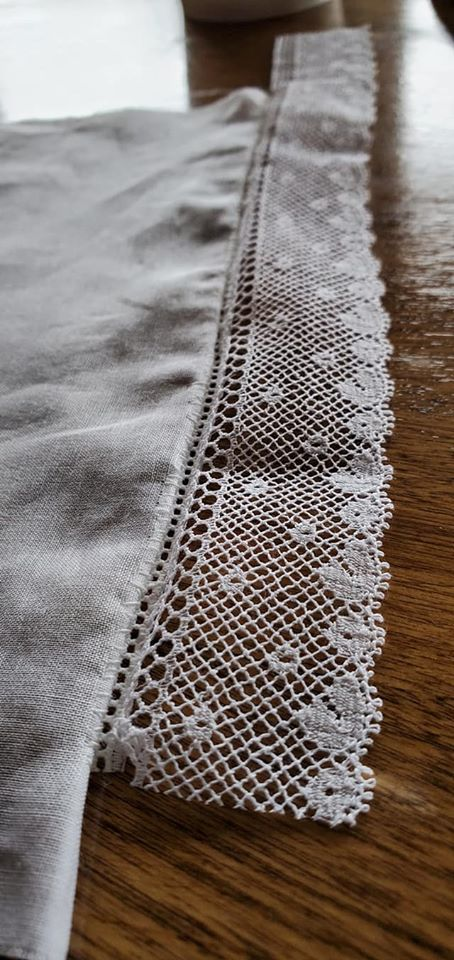french hand sewing sample