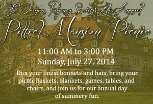 Pittock Mansion Picnic 2014