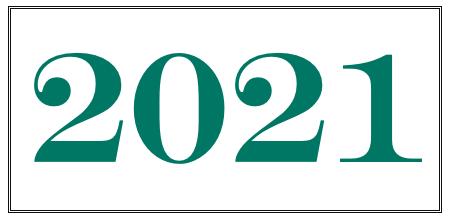 2021 green